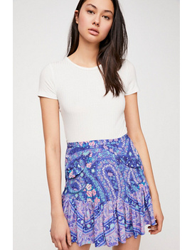 City Lights Mini Skirt by Free People