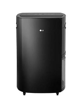 Lg Puri Care 70 Pint Dehumidifier, Black by Lg