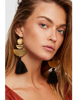 Bryce Canyon Tassel Earrings by Free People