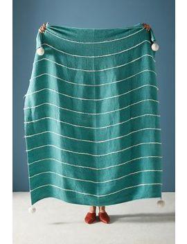 Rani Pommed Throw Blanket by Anthropologie
