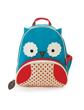 Skip Hop Zoo Toddler Kids Insulated Backpack Otis Owl, 12 Inches, Blue by Skip Hop