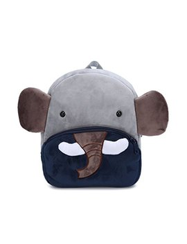 Cute Small Toddler Kids Backpack Plush 3 D Animal Cartoon Mini Children Bag For Baby Girl Boy Age 1 3 Years Old by Genold
