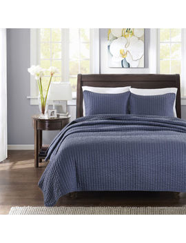 Madison Park Jaxson Coverlet Set by Madison Park