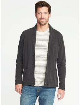 Garment Dyed Jersey Cardigan For Men by Old Navy