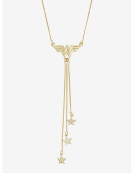 Dc Comics Wonder Woman Dangle Stars Necklace by Hot Topic