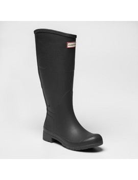 Hunter For Target Women's Waterproof Rain Boots   Black by Hunter For Target