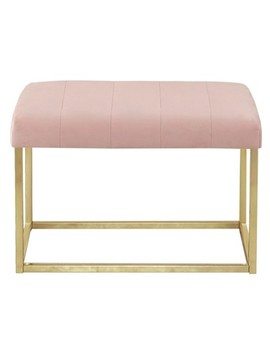 Velour Bench   Pink   Project 62™ by Target