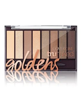 Covergirl Tru Naked Eyeshadow Palette, Goldens 810, .23 Oz by Cover Girl