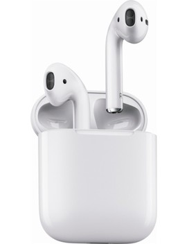 Geek Squad Certified Refurbished In Ear Headphones   White by Air Pods