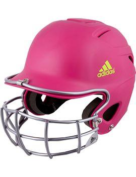 Adidas Osfm Destiny Fastpitch Batting Helmet W/ Mask by Adidas