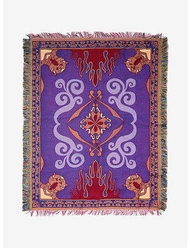 Disney Aladdin Magic Carpet Woven Tapestry Throw Blanket by Hot Topic