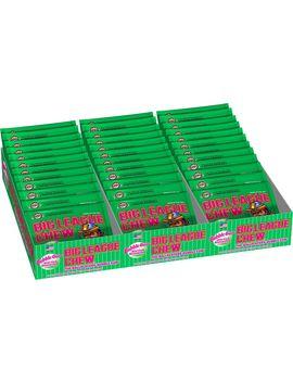 Big League Chew Watermelon Bubble Gum 3 Tray Pack by Vistar