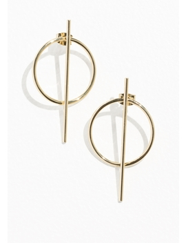 Hoop &Amp; Bar Earrings by & Other Stories