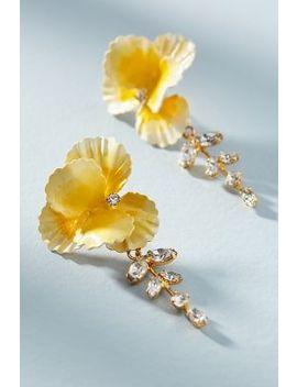 Senna Vine Drop Earrings by Jennifer Behr