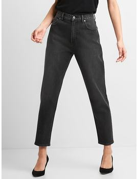 High Rise Mom Jeans by Gap