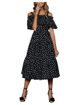 Girl Next Door Off The Shoulder Dress by Style Keepers