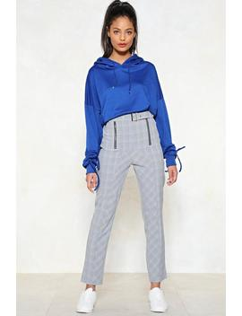 Let's Check It Out Zip Pants by Nasty Gal