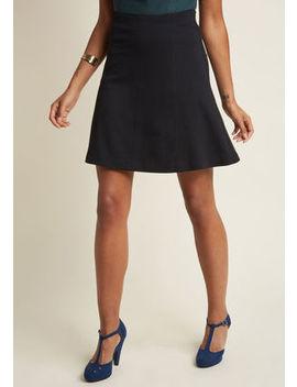 Knit A Line Skirt Knit A Line Skirt by Modcloth