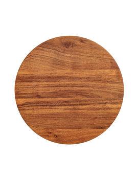 Rundes Schneidbrett Aus Holz by H&M