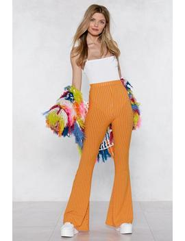 Flare To Be Different Striped Pants by Nasty Gal