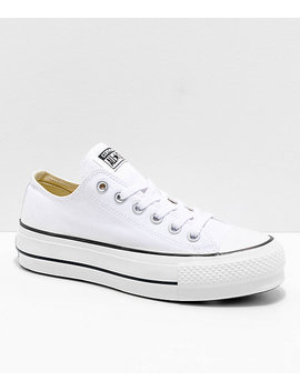 Converse Chuck Taylor All Star Lift White Shoes by Converse