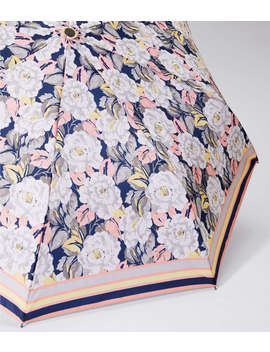 Border Floral Umbrella by Loft