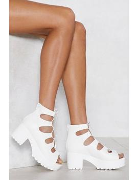 It's Up To You Heel Sandal by Nasty Gal
