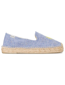 Sunshine Embroidered Espadrilles by Soludos