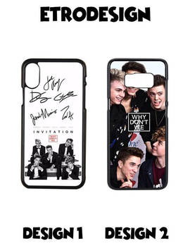 Why Don,T We Case, Why Don't We Signature I Phone X Case, Gustav Ahr, Gustav Ahr Phone Case, I Phone 10 Case, Samsung S8 Case, Samsung S7 Case by Etsy