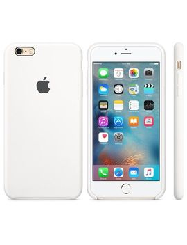 Authentic Original Apple Silicone Case For I Phone 6 Plus & 6 S Plus   White, Blue by Ebay Seller