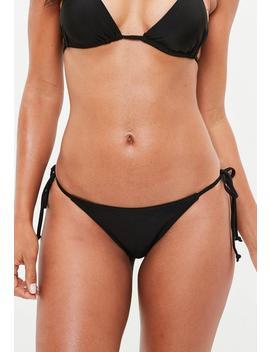 Black Bikini Bottoms by Missguided
