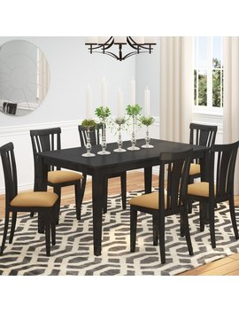 Andover Mills Oneill Modern 7 Piece Wood Dining Set & Reviews by Andover Mills