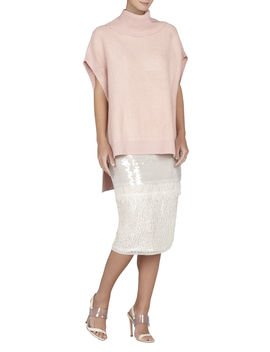 Elinor Textured Oversized Boxy Tunic by Bcbgmaxazria