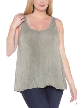 Scoop Neck Tank Top by Slink Jeans