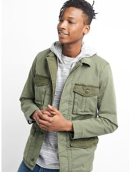 Colorblock Field Jacket by Gap