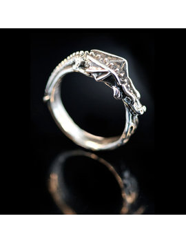 Dragon Ring Flame Dragon Dragon Ring Silver Game Of Thrones Inspired Jewelry Pinky Ring Thumb Ring Silver Ring Dragon Lover Dragon Age by Etsy