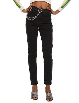 Black Mom Jeans by Topshop
