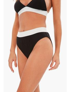 Black Jersey High Waisted Knicker by Missguided