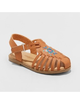 Toddler Girls' Kendrea Hurrache Sandals   Genuine Kids™ From Osh Kosh® by Genuine Kids From Osh Kosh