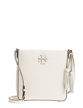 Mc Graw Leather Crossbody Tote by Tory Burch