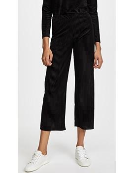 The Velvet Burnout Pants by Liana Clothing