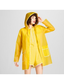 Hunter For Target Women's Rain Coat   Yellow by Hunter For Target
