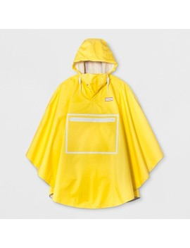 Hunter For Target Adult Waterproof Packable Poncho   Yellow by Hunter For Target