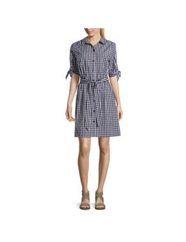 Alyx Elbow Sleeve Shirt Dress by Alyx