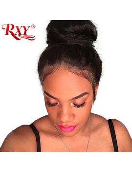 Rxy Glueless Lace Front Human Hair Wigs With Baby Hair Brazilian Hair Wig Lace Front Wigs For Women Body Wave Non Remy Black Hair by Rxy Official Store