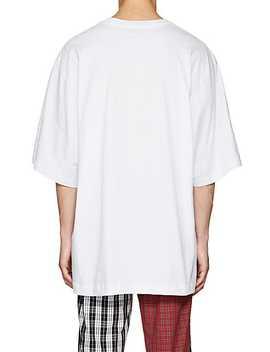 Graphic Cotton Oversized T Shirt by Gosha Rubchinskiy