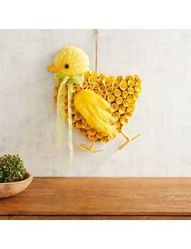 Wood Curl Easter Chick Decor by Pier1 Imports