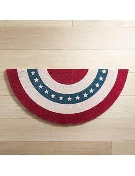 Patriotic Demilune Doormat by Pier1 Imports