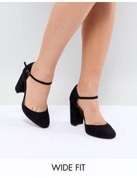 Asos Design Pocket Wide Fit Heels by Asos Design
