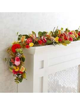 Bright Faux Floral & Eggs 6' Garland by Pier1 Imports